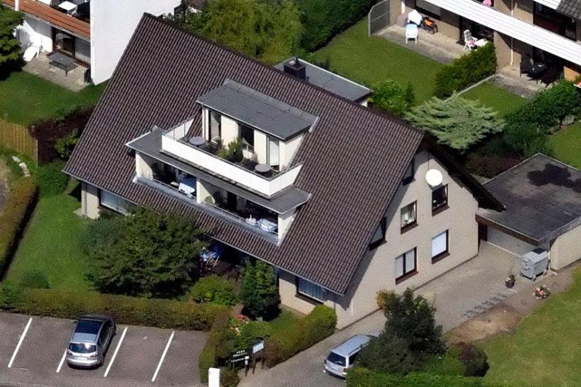 Haus Triton - Ansicht von oben