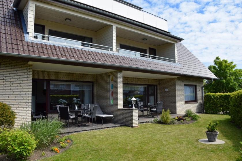 Haus Triton - Ansicht Terrassen